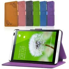 "Folio Stand Case Cover Protective Skin For Huawei MediaPad M1 8.0"" Tablet"