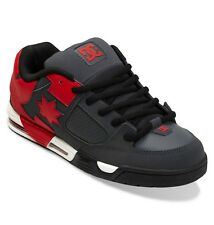 DC Skateboard Shoes COMMAND GREY/RED