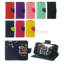 PU Leather Flip Cover Case HTC Desire 310 / Dual SIM + Screen Protector