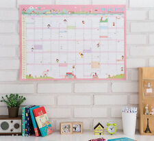 2015 Hello Wall Calendar Scheduler Planner Cute Korean Yearly Agenda Organizer