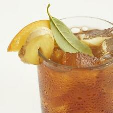 DECAF GINGER PEACH Loose Leaf Ripe Peach with Ginger Decaffeinated Tea