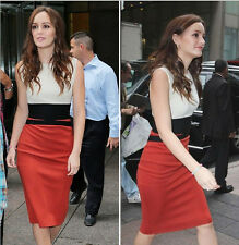 New OL Celebrity Contrast Joint Pencil Slimming Bodycon Party Dress Casual Dress