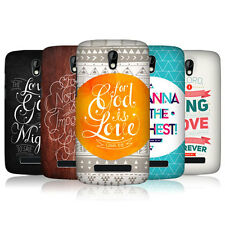 HEAD CASE FAMOUS BIBLE VERSE SNAP-ON BACK COVER FOR HTC DESIRE 500