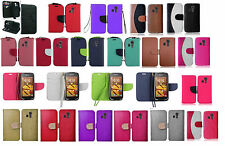 Wallet Pouch Case Phone Cover Accessory for Kyocera Hydro Icon C6730 LIFE C6530N