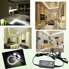 5M 300Led 3528/5050 SMD Waterproof 12Volt Strip Tape Pure/Day White Cuttable /6A