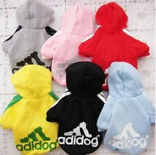 Warm Pet Puppy Dog Cat Cute Apparel Coat Clothes Hoodie Sweater Costumes C1-C6