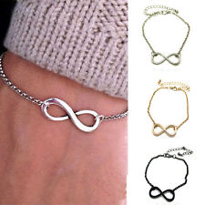 3 Colors bracciale infinito infinity one direction con donna uomo braccialetto