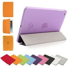 HOUSSE ETUI SMART COVER IPAD 2/3/4/5 AIR & IPAD MINI + COQUE ARRIERE & STYLET