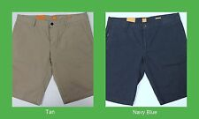 NWT $85 HUGO BOSS MENS REGULAR FIT CASUAL CHINO LOGO SHORTS 32 38 40 NEW