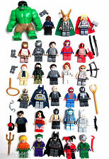 Official LEGO DC Universe,Marvel Super Heroes Mini Figures Choose. Avengers Xmen