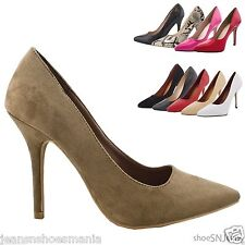 New Women Fashion Faux Snake Skin Material Pointed Toe Cut Pumps Heels Shoes