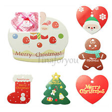 5PCS *CHRISTMAS* TAG & HANGING Accessory Decor Gift Heart Hanger Plaque Sign