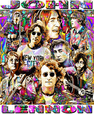 JOHN LENNON TRIBUTE T-SHIRT OR PRINT BY ED SEEMAN