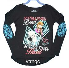 Disney Frozen ELSA ANNA Strong Bond Strong Heart for Girl Size 4/5 7/8 10/12