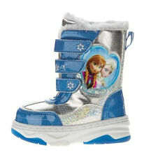 Disney Frozen ELSA ANNA Toddler Winter Shoe Boots Girls Size 5 6 7 8 9 10 11-NEW