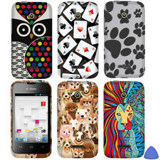 2D Hard Case Cover For Huawei Prism II U8686 Inspira H867G Phone Paws/ Dog +Tool