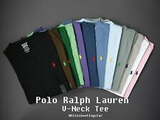 NWT LOT of 10 Polo Ralph Lauren Men's Pony Classic Fit V-Neck T-Shirt Tee