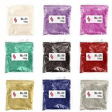200g Premium Grade Ultra Fine Glitter Powder For Nail Art Scrapbooking Crafts
