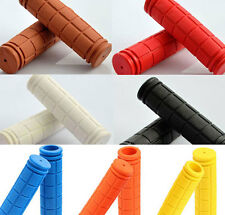 Cycling Bicycle Fixed Handlebar Rubber Shock Absorption Handgrip Hand Grips Knob