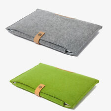"11""13"" 15"" Woolen Felt Envelope Laptop Bag Cover Case Sleeve For MacBook Air Pro"