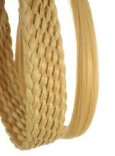 Rattan Effect Headband Pack | Pack of 2 Hairbands | Soft Realistic Fibre