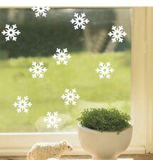 15 snowflakes wall stick art/Vinyl Wall Decals,ideal for christmas window