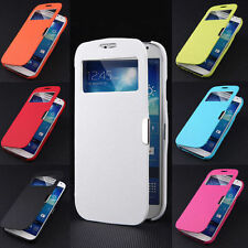 View Window Smart Case Magnetic Flip Hard Cover Skin For Samsung Galaxy S4 I9500