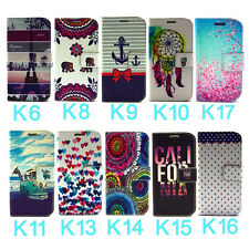 Wallet Leather Stand Print Flip Case Cover For Samsung Galaxy Note IV 4 N910