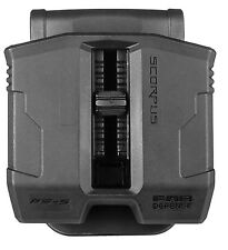 PS-9S FAB Defense Double Magazine Pouch with Swivel for S&W SERIES 40, 59, 69,