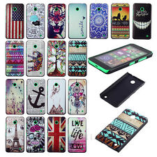 Stylish Paint Design Series Back Hard Case Cover For Nokia Lumia N630 N635 Mecoo