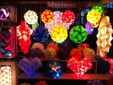 30pcs IQ Puzzle Jigsaw Light Lamp Shade Ceiling Modern Design Size S All Colors