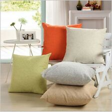 Soft Decorative Solid Pillows Cover/Cushion Cover(No Pillow Insert)