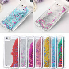 Stars Glitter Running Liquid Dynamic Sand Hard Case Cove For iPhone 4S 5S 6 Plus