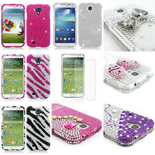 Colorful Bling Hard Snap On Cover Case for Samsung Galaxy S4 SIV S IV w/Screen