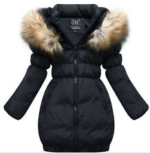 new 2015 Korean children's down jacket girls jackets long sections thicker coat