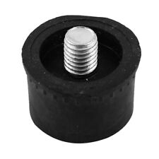 Replaceable 8mm Thread Head Plastic Hammer Tip 35mm Dia Black