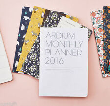 2015 Pattern Monthly Journal [S] Planner Diary Scheduler Agenda Cute Organizer