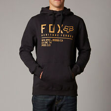 Fox Racing Allegiant Pullover Fleece Hoody Black