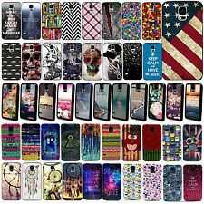 Fashion Beauty Pattern Hard Skin Phone Case Cover Back For Samsung Galaxy S4 S5