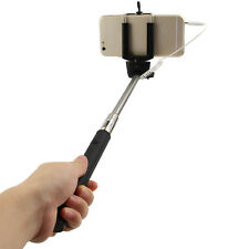 Wired Remote Shutter Extendable Handheld Selfie Stick Monopod for IOS Android