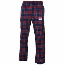 NEW YORK GIANTS Roster Flannel Pants - Blue/Red - FREE SHIPPING