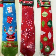 Holiday Christmas Theme Jingler Bells Musical Ties