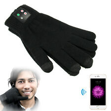 Unisex Call Bluetooth 3.0 Gloves Mobile Headset Speaker For Smart Phone iPhone