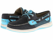 SPERRY TOP SIDER  BLUEFISH NAVY/TURQUOISE SPORTY MESH  WOMEN'S NEW IN BOX
