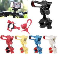 Motorcycle Bicycle MTB Bike Holder Handlebar Clip Stand Mount For Cell Phone GPS