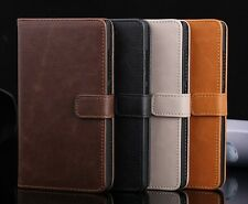 Luxury Retro PU Leather Flip Card Wallet Case Stand Cover Pouch For Nokia XL