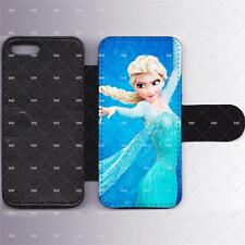 Frozen Leather Wallet/Flip Phone Case Cover for iPhone Samsung Card slots iPad