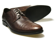 Red Tape Fane Brown Leather Men's Formal Shoes Uk 7 - 12 RRP £40 Free Uk P&P