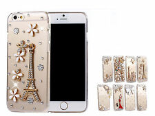"Fashion Luxury 3D Bling Crystal Rhinestone Case Cover For 4.7"" Apple iPhone 6"