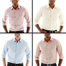 NEW Mens Dockers No-Wrinkle Woven Long Sleeve Shirt MSRP $50